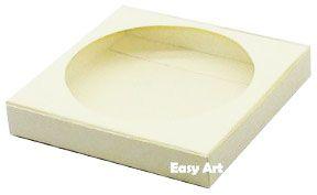 Caixa para Biscoitos / Porta Copos - Marfim - Pct com 10 Unidades