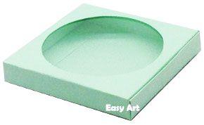 Caixa para Biscoitos / Porta Copos - Verde Claro - Pct com 10 Unidades