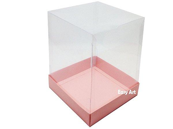 Caixinhas para Mini Bolos / Mini Panetones - Salmão