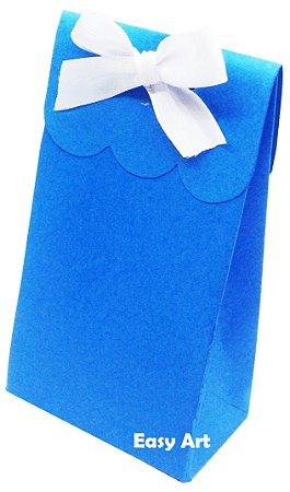 Sacolinha Francesa - Azul Turquesa