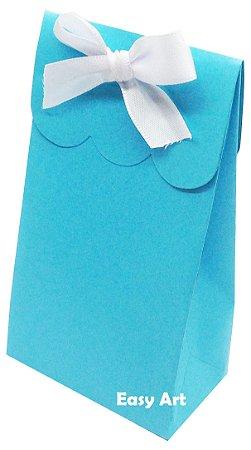 Sacolinha Francesa - Azul Tiffany