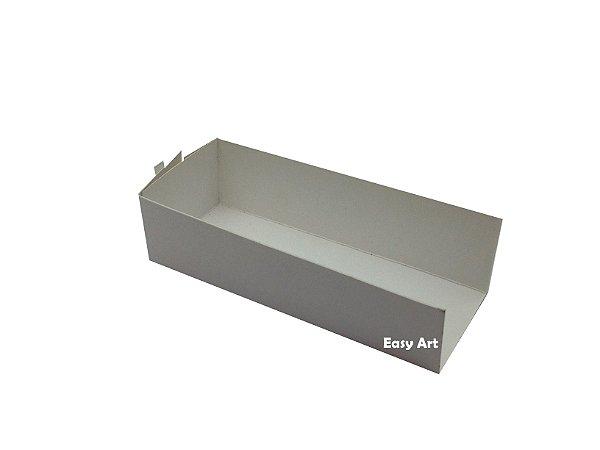 Embalagem para Fudje / Mini Churros - Branco