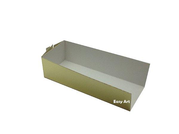 Embalagem para Fudje / Mini Churros - Dourado