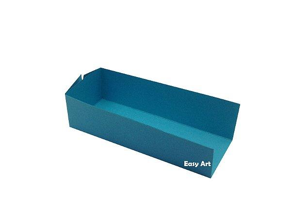 Embalagem para Fudje / Mini Churros - Azul Tiffany