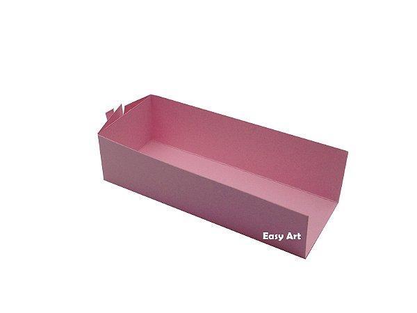 Embalagem para Fudje / Mini Churros - Rosa Claro