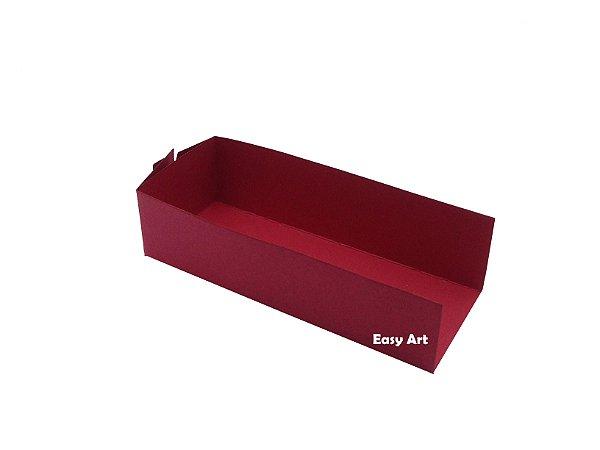 Embalagem para Fudje / Mini Churros - Vermelho