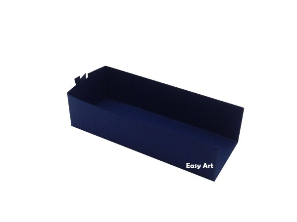 Embalagem para Fudje / Mini Churros - Azul Marinho