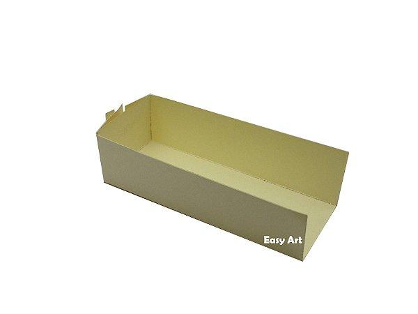 Embalagem para Fudje / Mini Churros - Marfim