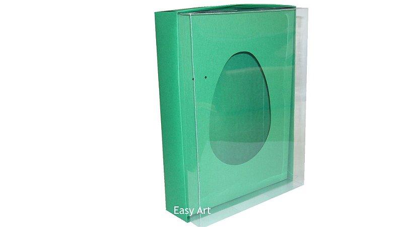 Caixas Ovos de Colher - 1K - Verde Bandeira
