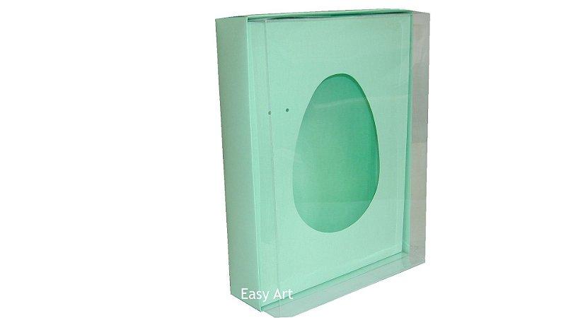 Caixas Ovos de Colher - 1K - Verde Claro