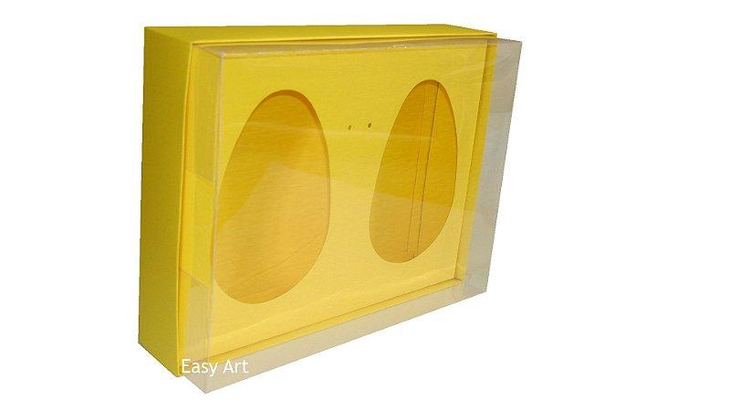 Caixas 2 Ovos de Colher de 500g Cada - Amarelo
