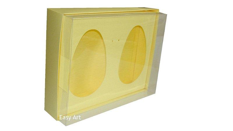 Caixas 2 Ovos de Colher de 500g Cada - Marfim