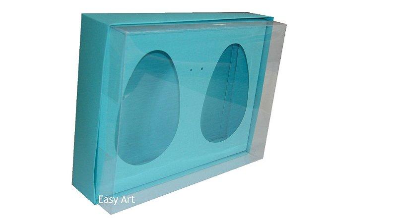 Caixas 2 Ovos de Colher de 500g Cada - Azul Tiffany