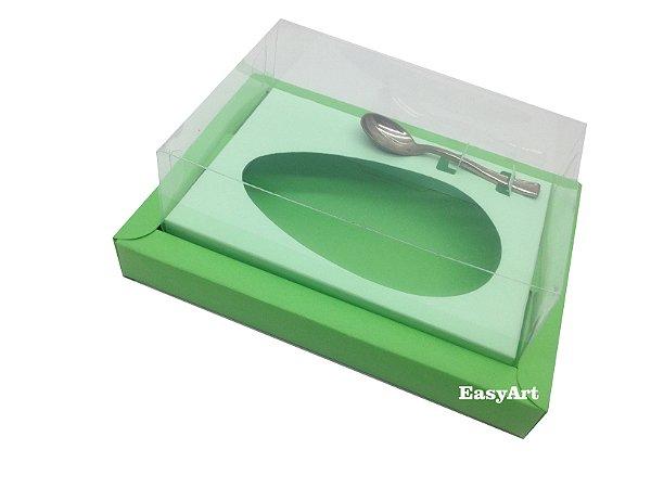 Caixa para Ovos de Colher 250g Verde Pistache / Verde Claro