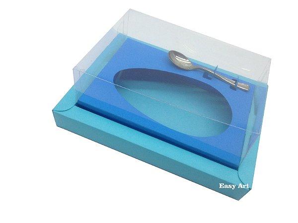 Caixa para Ovos de Colher 500g Azul Tiffany / Azul Turquesa