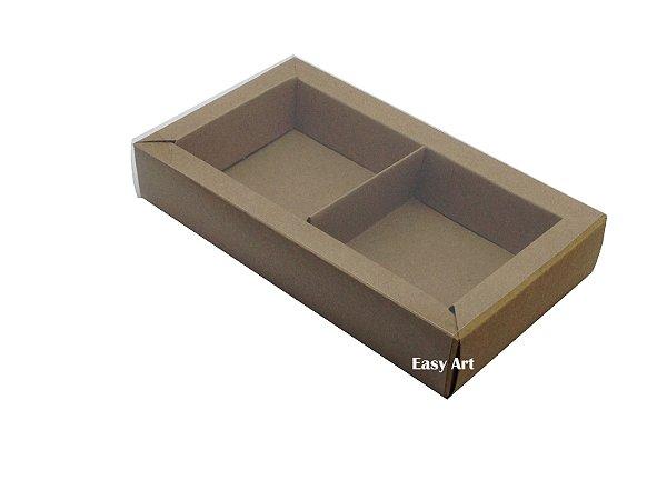 Caixa para 02 ou 03 Sabonetes / Kraft