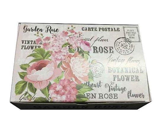 Caixa Garden Rose /  06 Brigadeiros - 12x8x3,5