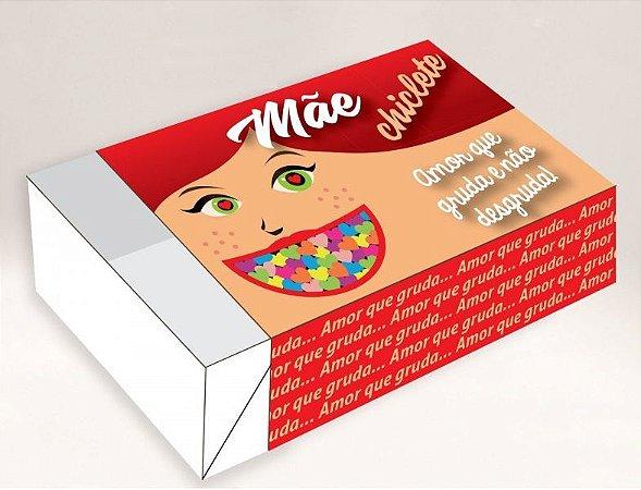 Caixa Mãe Chiclete / 06 Brigadeiros - 12x8x3,5