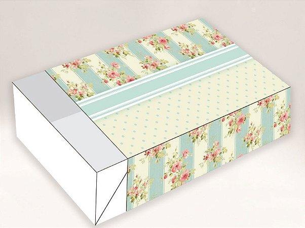 Caixa 06 Brigadeiros - Estampa Floral