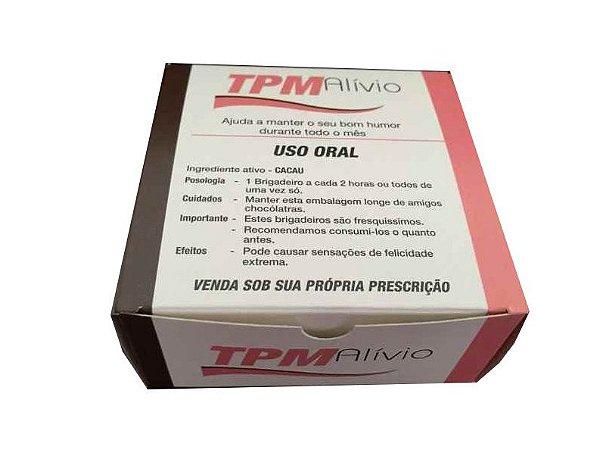 Caixa TPM Alívio /  04 Brigadeiros - 8x8x3,5