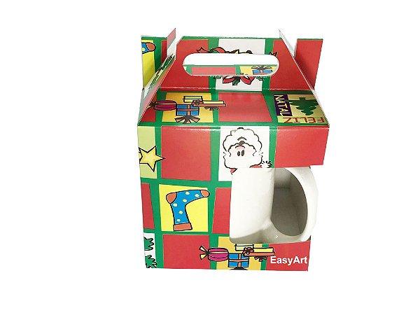 Caixa para Canecas - Estampado Natal