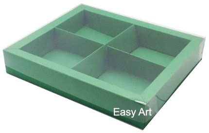 Caixas para Brownies / Biscoitos / Brigadeiros / Sabonetes - Verde Bandeira