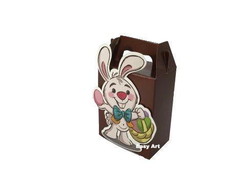 Sacolinhas Surpresa Marrom / Caixas Maletas - 8x10,5x5