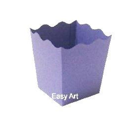 Cachepô / Caixa para Pipoca - Lilás