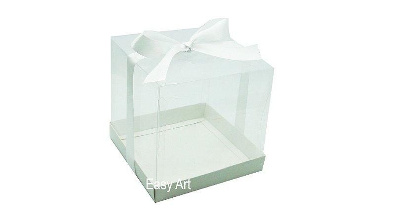 Caixinhas para Mini Bolos 9x9x9 - Branco