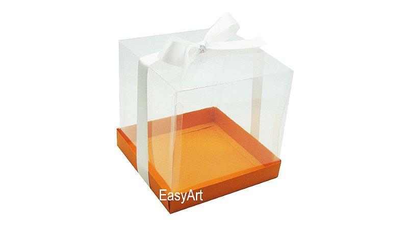 Caixinhas para Mini Bolos - Laranja