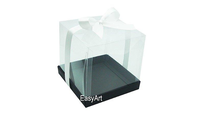 Caixinhas para Mini Bolos - Preto