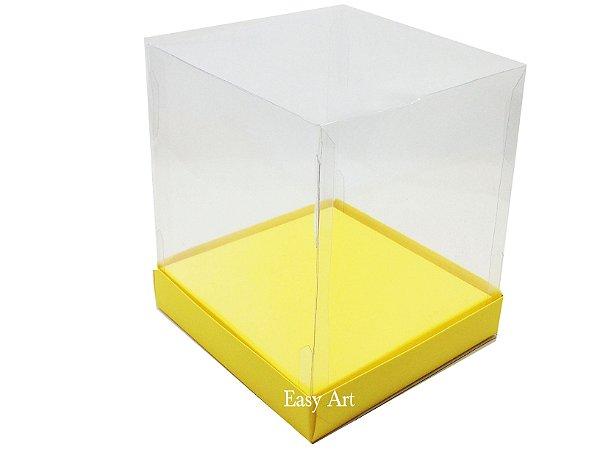 Caixinha para Mini Bolos / Mini Panetones com Berço - Pct com 10 Unidades