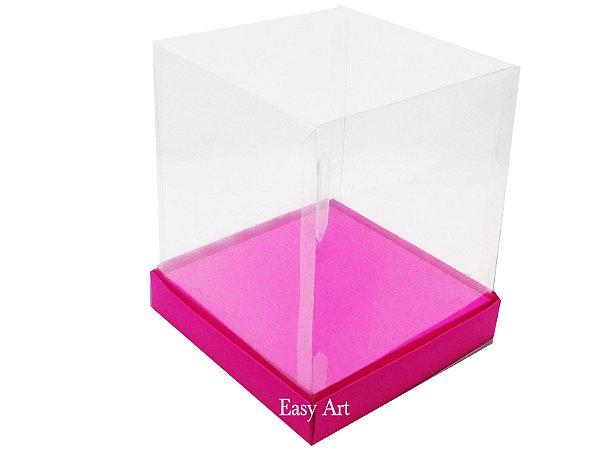 Caixinhas para Mini Bolos / Mini Panetones com Berço - Pink