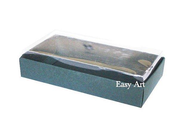 Caixinha para 1 Sabonete / Bijuterias - Verde Musgo