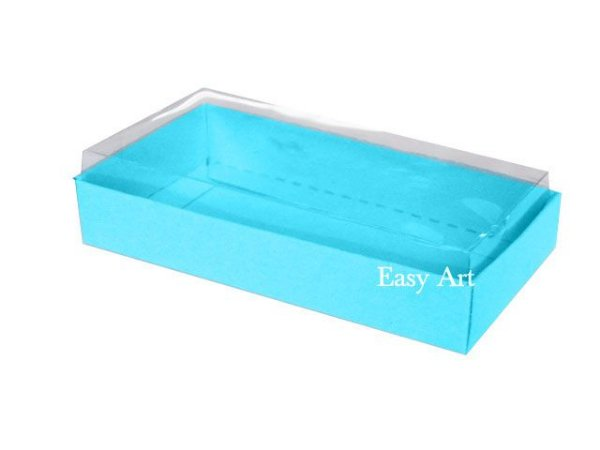 Caixinha para 1 Sabonete / Bijuterias - Azul Tiffany
