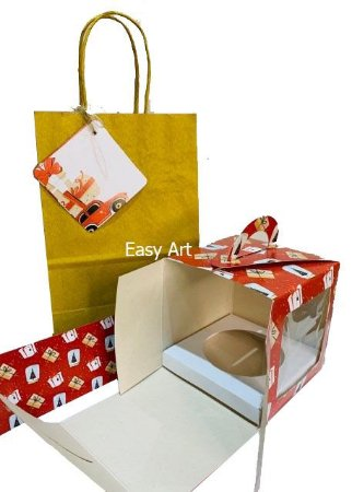 Kit para Mini Panetone - Presentes de Natal