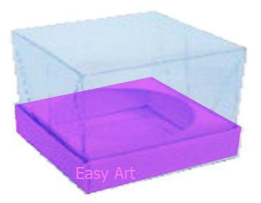Caixa para Esferas de Sabonete - Lilás