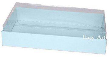 Caixinha para 1 Sabonete / Bijuterias - Azul Claro