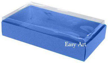 Caixinha para 1 Sabonete / Bijuterias - Azul Marinho
