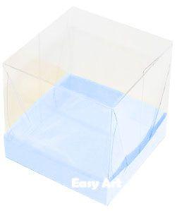 Caixinhas para Mini Bolos - Azul Claro