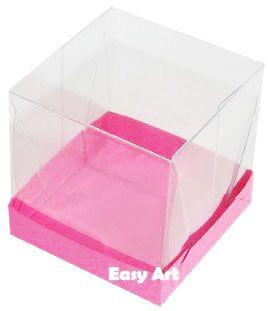 Caixinhas para Mini Bolos - Pink