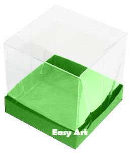Caixinhas para Mini Bolos - Verde Pistache