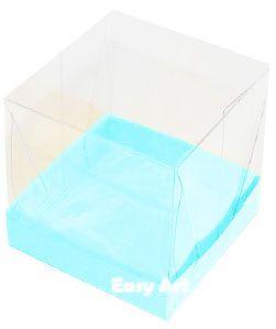 Caixinhas para Mini Bolos - Azul Tiffany