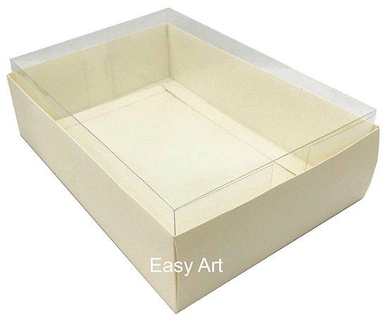 Caixa para Urso de Chocolate / Multiuso - Pct com 10 Unidades