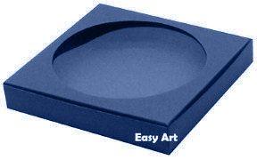 Caixa para Biscoitos / Porta Copos - Azul Marinho - Pct com 10 Unidades