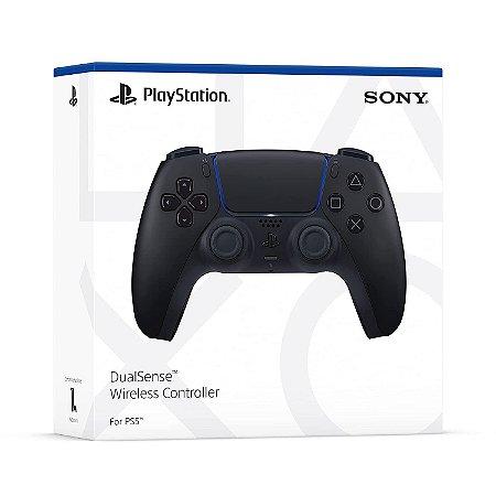 Controle PS5 Dualsense Midnight Black Sony