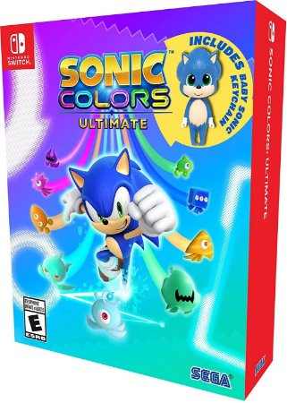 Sonic Colors Ultimate Nintendo Switch