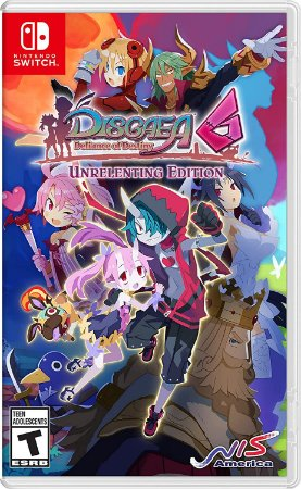 Disgaea 6: Defiance of Destiny Unrelenting Edition Nintendo Switch (US)