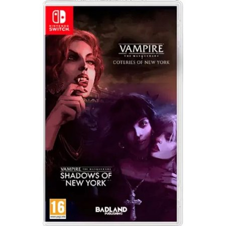 Vampire: The Mascarade - Coteries of New York + Shadows of New York Nintendo Switch (EUR)