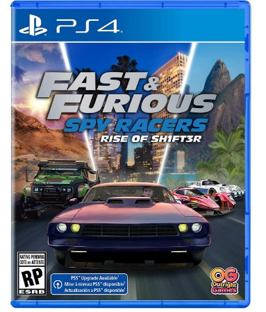 Fast and Furious Spy Racers Rise of Sh1ft3r PS4